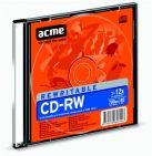CD-RW 700MB 12X ÚJRAÍRHATÓ ACME