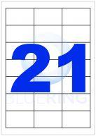 BLUERING ETIKETT 63,5X38,1MM 100LAP 21CÍMKE/LAP