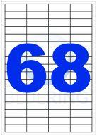 BLUERING ETIKETT 48,5X16,9MM 100LAP 68CÍMKE/LAP