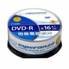DVD-R 4,7GB 16X CAKE BOX10 ESPERANZA 10DB