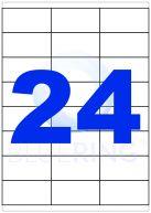 ETIKETT 70X35MM 100LAP 24CÍMKE/LAP